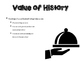 History of Food Service Powerpoint for Culinary/FCS course