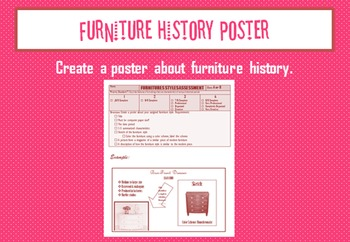 History of Furniture Poster