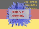 History of Germany: The Printing Press