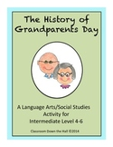 History of Grandparents Day Activity (QR Codes Option Included)