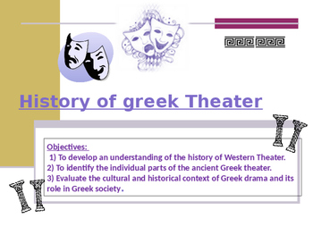 History Of Greek Theatre