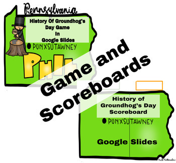 History of Groundhog Day Game Bundle in Google Slides™