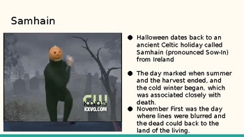 History of Halloween!