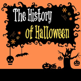 History of Halloween Activity