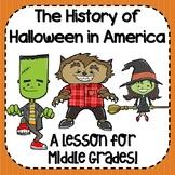 History of Halloween Activities!