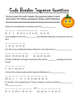 History of Halloween Activities