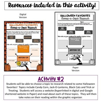 History of Halloween:  Close Read and Writing Activity {NO PREP}