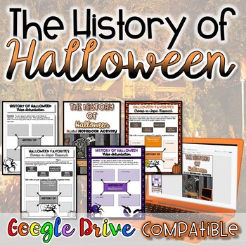 History of Halloween {Digital AND Paper}