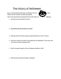 History of Halloween Assignment