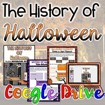 History of Halloween {Digital}