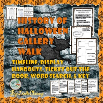 History of Halloween Gallery Walk