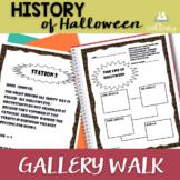 History of Halloween Gallery Walk