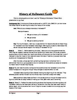 History of Halloween Guide