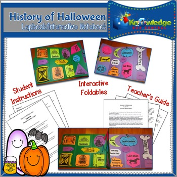 History of Halloween Lapbook / Interactive Notebook