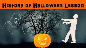 History of Halloween No Prep Lesson with Power Point, Work