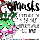 History of Halloween Masks Close Reading or Informational Text Pairing
