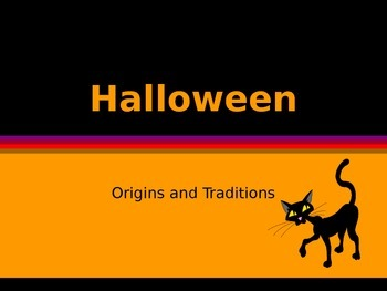 History of Halloween PPT