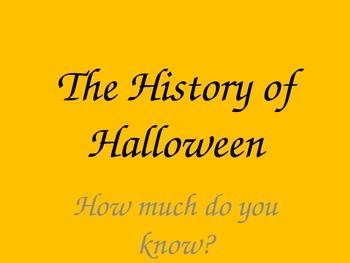 History of Halloween Quiz