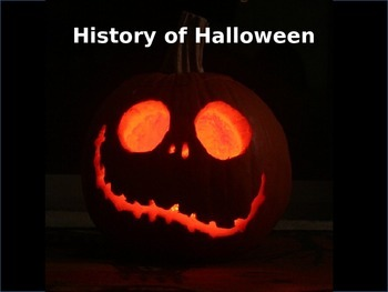 History of Halloween- with activities (elementary & adolescent)