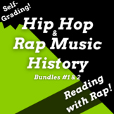 History of Hip Hop Google Forms Reading Comprehension Activities