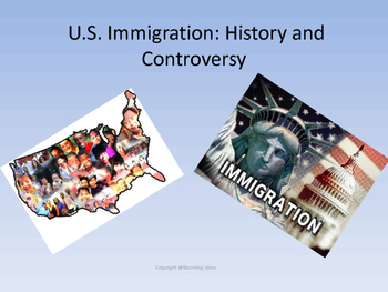 History of  the U.S.  Immigration and Challenges - no prep