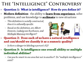 History of Intelligence PowerPoint