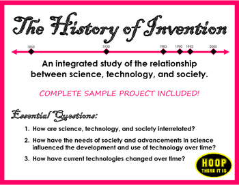 History of Invention STEM Project