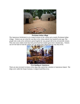 History of Jamestown for Kids