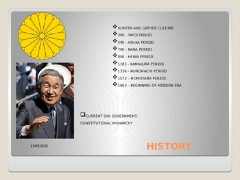 History of Japan Power Point