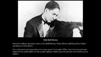 History of Jazz PowerPoint