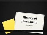 History of Journalism Power Point