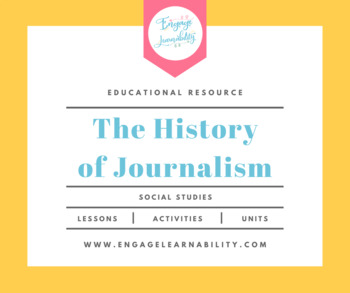 History of Journalism PowerPoint