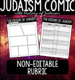 History of Judaism Comic NON-EDITABLE