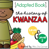 History of Kwanzaa Adapted Books [Level 1 and Level 2] | D
