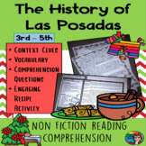 History of Las Posadas, Holiday Christmas Non Fiction passage with questions