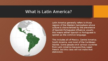 History of Latin America: Geography of Latin America (Lesson 1/13)