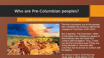 History of Latin America: Pre-Columbian Peoples (Lesson 2/13)