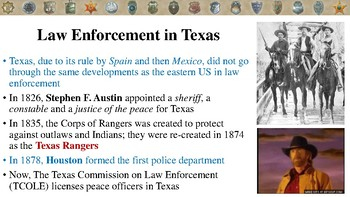 History of Law Enforcement Notes