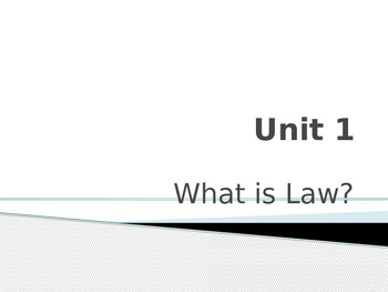 History & Criminal Justice: History of Law and Crime PowerPoint