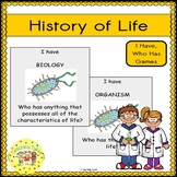 History of Life Biology I Have, Who Has Games