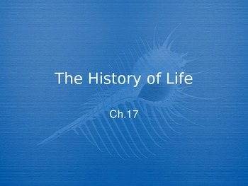 History of Life PowerPoint