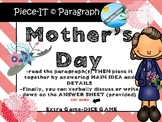 History of MOTHER'S DAY informational text passage