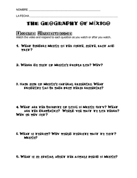 Geography of Mexico for Kids Schlessinger Media Video