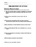 History of Mexico for Kids Schlessinger Media Video worksheet