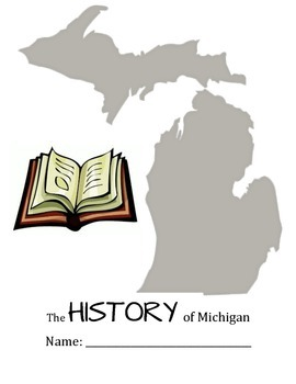 History of Michigan Student Work Packet