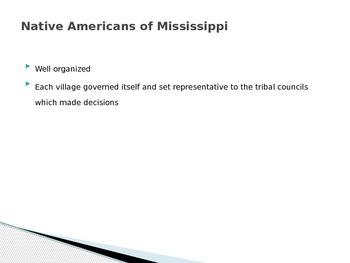 History of Mississippi Presentation