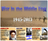 Middle East Conflicts PowerPoint and Guided Notes