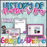 History of Mother's Day {Digital} Distance Learning