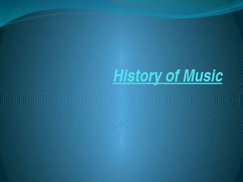 History of Music