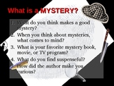 History of Mystery PowerPoint including TV detectives, Poe